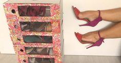 ¡Se acabó el tener los zapatos desordenados y siempre por el medio! ¿Cómo? Vamos a necesitar unos archivadores. ¡Tomad nota!