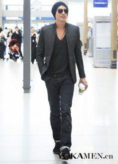 | Men Fashion | Daniel Henney | Asian Model | Asian Actor | Candids