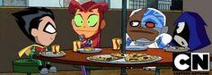 #Teen #Titans #Go. (Teen Titans TV Cartoon Show) On: CNN. ÅWESOMENESS!!! ÅÅÅ+ Teen Titans Go, My Favorite Part, Donald Duck, Sonic The Hedgehog, Chibi, Disney Characters, Fictional Characters, Family Guy, Guys