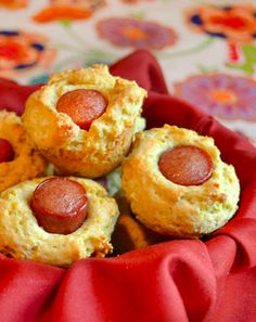 Mini Corn Dog Muffins. Another great hoop time appetizer!