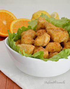 pollo croccante agli agrumi