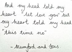 Winter Winds - Mumford and Sons.
