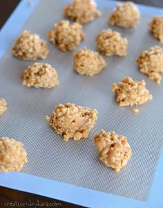 how to make rice crispy peanut butter balls