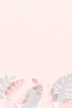 premium illustration of Tropical leaves pattern on pastel pink Pastel Background Wallpapers, Flower Background Wallpaper, Flower Backgrounds, Pretty Wallpapers, Background Patterns, Cute Pastel Background, Background Ppt, Pink Paris, Bg Pastel