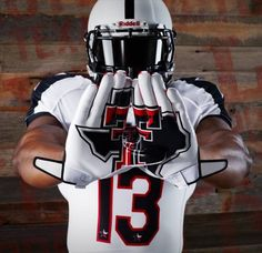 2013 Texas Tech Lone Star State Under Armour Uniform