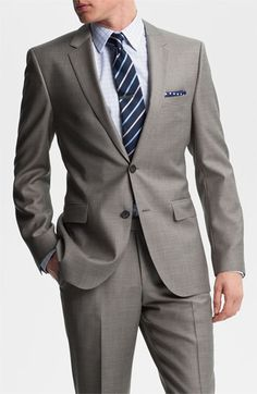 BOSS Black James/Sharp Trim Fit Wool Suit