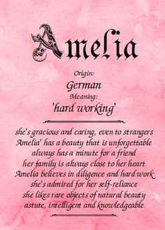 Meaning of the name Amanda and everything about the first name Amanda name meaning, origin, and personality traits, baby names at Name Meanings Online Amelia Name Meaning, Girl Names With Meaning, Marie Name Meaning, Names And Meanings, Ava Name, Emily Name, Jessica Name, Latin Meaning, Writing
