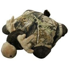 realtree pillow pet. I just texted Robert and told him this is what I want for Christmas. Adorable.
