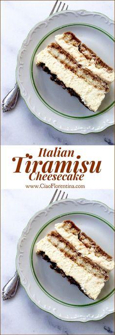Cheesecake Desserts, Easy Desserts, Delicious Desserts, Dessert Recipes, Yummy Food, Homemade Cheesecake, Pumpkin Cheesecake, Italian Desserts, Italian Tiramisu