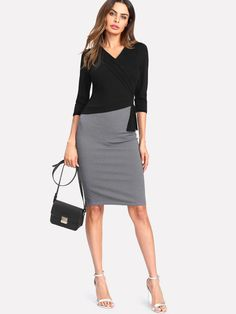 5a94f79d6051 10 Best Дамски дрехи Shein images | Blouses, Dress p, Dress shirts