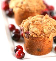 Cranberry Crumb Cake Minis
