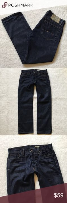 Polo Ralph Lauren Dark Wash Classic 867 Jeans 34 Mens Polo Ralph Lauren Dark Wash Classic 867 Jeans 34x32  Nice pair of jeans. Great Condition, light wear. Please note there is a spot on the right leg. It appears to be a factory defect. Dark Wash.   Size - 34x32  If you have any questions please feel free to ask! Polo by Ralph Lauren Jeans