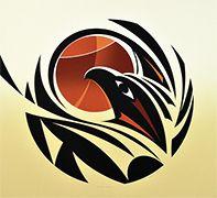 Changing Seasons state I by Susan Point, Coast Salish (Musqueam) artist Haida Kunst, Inuit Kunst, Arte Haida, Haida Art, Inuit Art, Native American Artwork, Native American Symbols, Native American Design, Native Design