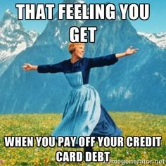 If you've ever struggled with and paid off credit card debt then you know what we are talking about!