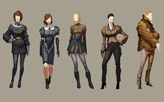 Costumes  Deus Ex - Human Revolution
