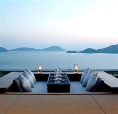 sri panwa resort : phuket .... omg this looks like bliss wrapped in a bow!