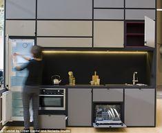 Plus de 1000 id es propos de petite cuisine sur - Facade de cuisine seule ...