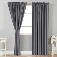 5 Best Blackout Curtains for Bedroom - CountryCurtains Grey Curtains, Room Darkening Curtains, Blackout Curtains, Panel Curtains, Country Curtains, Bedroom Curtains, Interior Decorating, Interior Design, Soft Furnishings