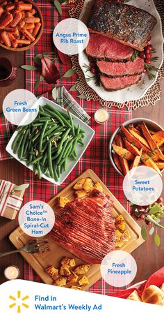 Count on Walmart to get tasty ingredients for fresh Christmas meals; make fresh your centerpiece during this Christmas season. Check out Walmart's weekly ad to find all of your holiday food needs.
