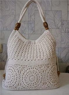 Wonderful Crochet Bag. Much elegance in the Work step by step with the Graphic Available. | Crochet Patterns
