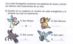 evangelios sinopticos para niños - Buscar con Google