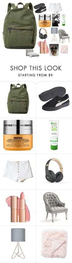 """Untitled #473"" by emma-g333 ❤ liked on Polyvore featuring Herschel Supply Co., Peter Thomas Roth, Andalou, Hollister Co., Beats by Dr. Dre, Olympia and Jaipur"