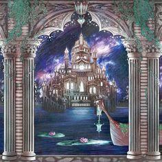 Luna Palace Coloring Page by Kat-Adara