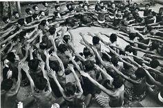 Ceremonial dance by Ernst Haas.  Bali 1956