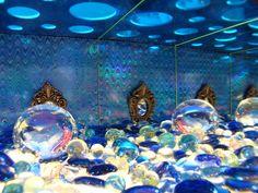 Infinite Fanstasy Worlds - diorama in mirrorbox