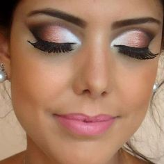 Um passo , a passo de uma maquiagem linda e chiq para as mulheres da sua casa !!!