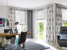 Unland Grace, Fensterideen, Vorhang, Gardinen und Sonnenschutz - curtains, contract fabrics, pleated blinds, roller blinds and more. Made in Germany