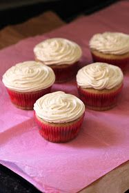 These delicious cupcakes, of course!         Sometimes there's nothing better than a vanilla cupcake with vanilla frosting. I am normally  ...