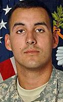 Army Spc. Manuel J. Vasquez 22, of West Sacramento, Calif.; assigned to 2nd Battalion, 28th Infantry Regiment, 172nd Infantry Brigade, Grafenwoehr, Germany; died April 24 in Margah, Paktika province, Afghanistan, of unspecified causes.
