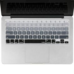 Find best price for Kuzy - Gray Ombre Colors Keyboard Cover Silicone Skin for MacBook Pro 13 15 17 (with or w/out Retina Display) iMac and MacBook Air 13 - mix Grey Ombre Macbook Desktop, Macbook Pro Keyboard Cover, Best Macbook Pro, Macbook Case, Mac Laptop, Laptop Cases, Phone Cases, Macbook Pro Accessories, Computer Accessories