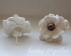 clay flower tutorial, must try!