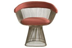 One Spectacular Chair...worth a vacation. Warren Platner for Knoll Chairs, S/4