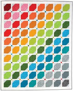 Rainbow Quilt Pattern DP140843D  | Keepsake Quilting