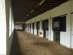 Spanish barn aisleway, this very like Turkish stable at Incirlik  I leased a mare named Layla