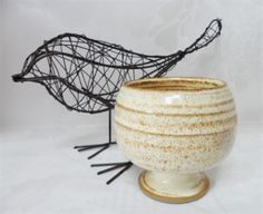 Stoneware Goblet Chalice Cup Vintage British Studio Pottery