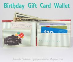 Such a fun gift idea for those gift cards and money and movie tickets we present!! Must do this!