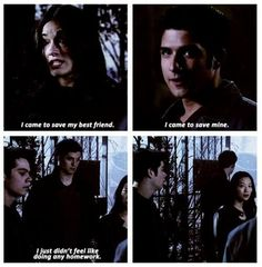 Oh Isaac.. This is but one of the reasons that you're my favorite. I wish he was still in the show!