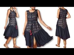Girls Dresses Sewing, Dressmaking, Kurti, Stitching, Gowns, Youtube, Design, Fashion, Sewing