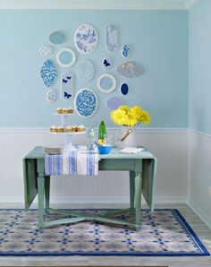 decorology: Cool and easy things to do with wallpaper other than covering the walls