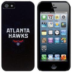 Atlanta Hawks iPhone 5 Logo Snap-On Case - Navy Blue