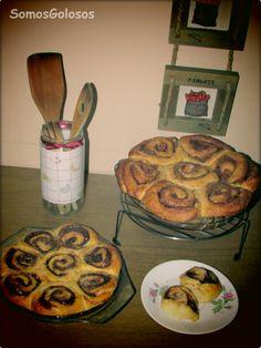 Flor de brioche y Nutella. Receta aquí: http://blogsomosgolosos.blogspot.com/2013/12/flor-de-brioche-y-nutella.html