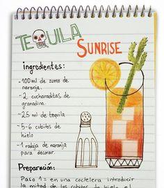 jeanclaudevolldamm: Tequila Sunrise
