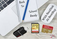 Back To School Ready With SanDisk Memory