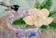 fairy wren and Magnolia Grandiflora | Flickr - Photo Sharing! Mango Frooty
