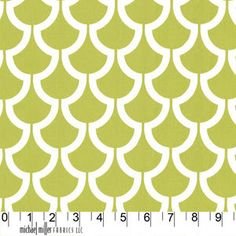 Billow in Kiwi by Trenna Travis for MMF by 83westfabrics on Etsy, $13.95