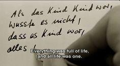 WIM WENDERS  |  DER HIMMEL  ÜBER  BERLIN  /  WINGS OF DESIRE  | 1987  |
